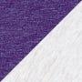 Heather White/Purple Rush