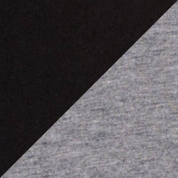 BLACK/DARK HEATHER GRAY