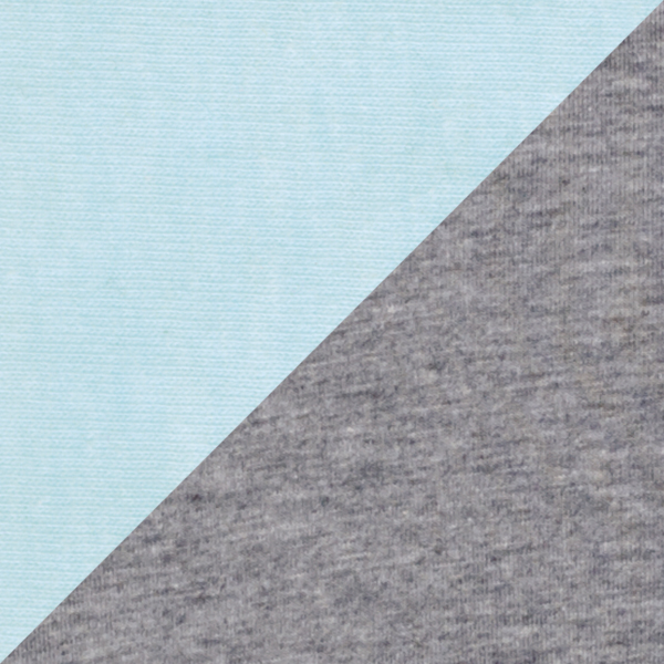 ICE BLUE/DARK HEATHER GRAY