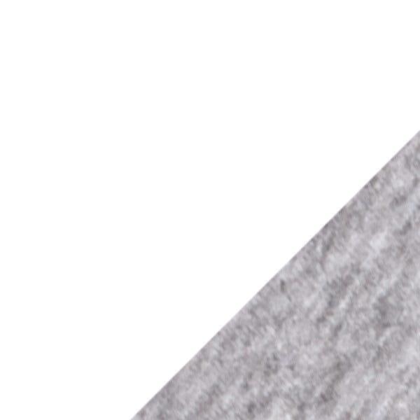 WHITE/HEATHER GRAY