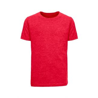 YOUTH'S ECO PERFORMANCE CREW-HEATHER RED-L