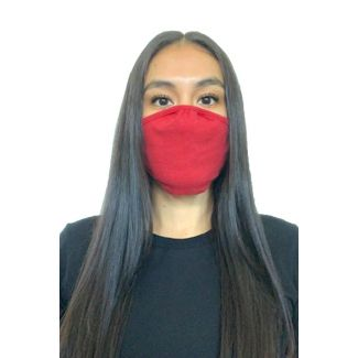 Next Level Adult Face Mask-OS-HEATHER RED