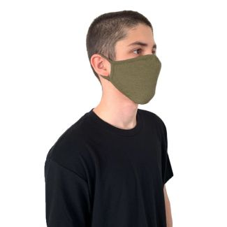 Next Level Tri-Blend Adult Face Mask-OS-Military Green