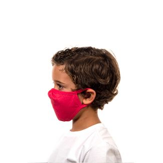 Next Level CVC Youth Face Mask-OS-Red