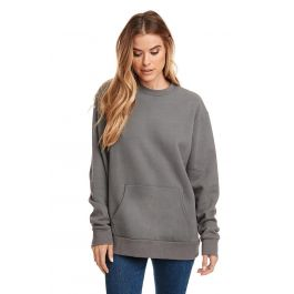 KAM Cotton Rich Fleece Crew Neck Sweat Top in Size 2XL to 8XL 2 color Options